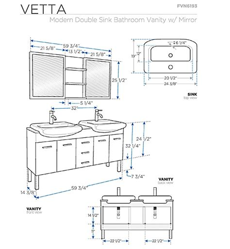 Vanity Dimensions Standard by Bathroom Vanities Buy Bathroom Vanity Furniture