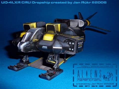 Aliens Papercraft - click to enlarge