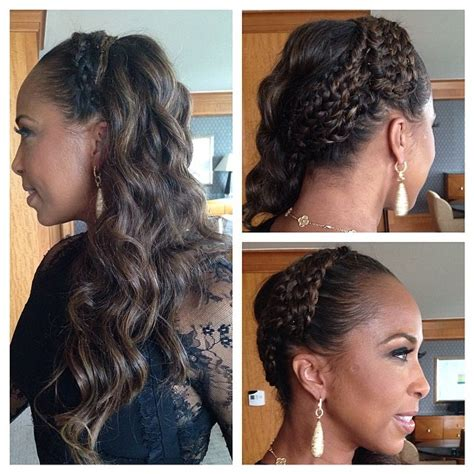 what color is steve harveys wife hair marjorie harvey shows off braided hairstyles on instagram