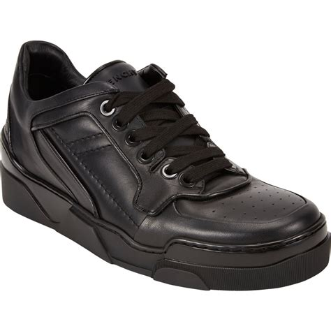 s low top sneakers lyst givenchy tyson low top sneakers in black