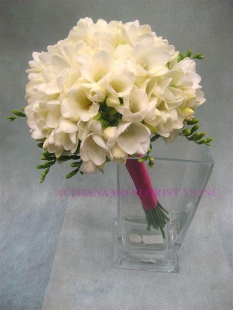 Wedding Bouquet Meme by White Freesia Flower Bouquet Wedb073 White Freesias