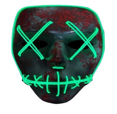 light mask the purge led light up mask election year