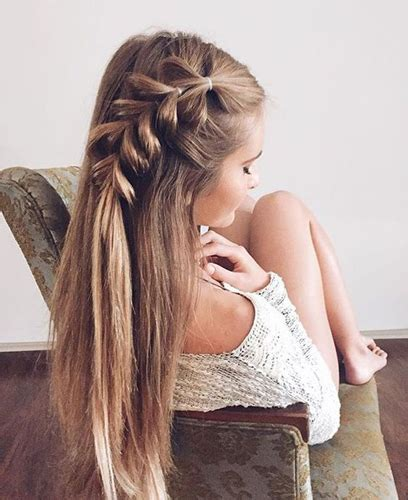 easy hairstyles with braids tumblr braids inspiration tumblr pinterest hairstyle side braid