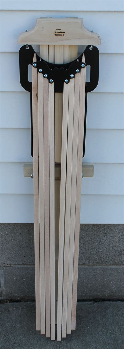 Amish Wood Clothes Drying Rack