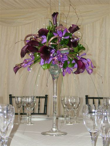 Flower Arrangements In Martini Glass Vases by 1000 Images About Martini Glass Decor On Unique Wedding Centerpieces Martini