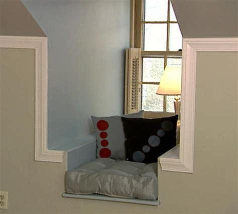 dormer window seat plans window seat in dormer house