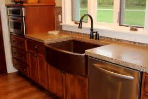 concrete kitchen countertops decosee