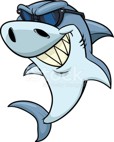 Cool Shark Stock Vector   FreeImages.com