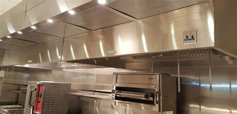 commercial kitchen exhaust hood design commercial exhaust hood with interior makeup air 10 100