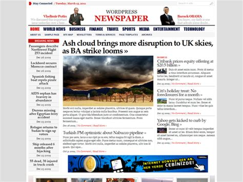 wordpress theme newspaper best best newspaper themes for wordpress smashing magazine