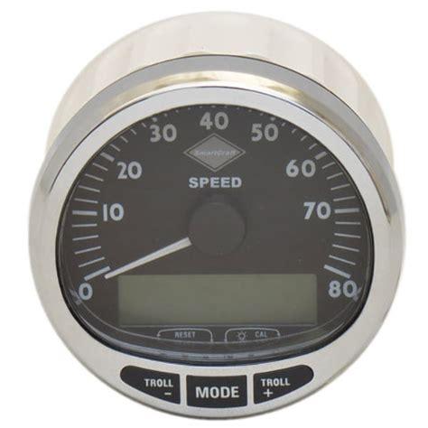 boat speedometer mercury boat speedometer gauge kit 79 889223k01