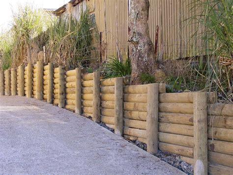 Garden Wall New Zealand Edged Half Rounds Goldpine