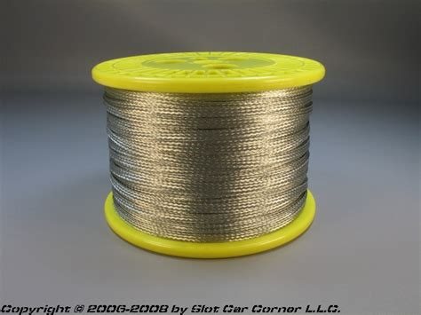 Magnetic Track Duck Limited non magnetic tinned copper track braid 1 4 wide 500 ft roll