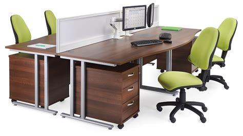 Maestro 25 Sl 1800mm Right Hand Double Upright Cantilever Ergo Office Desk