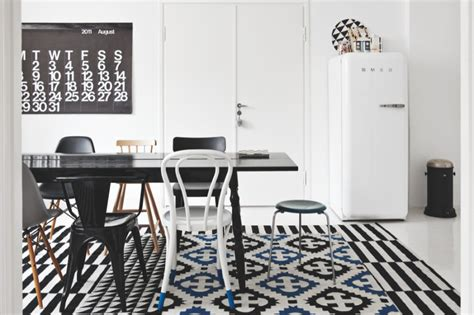the black and white home of interior stylist susanna vento