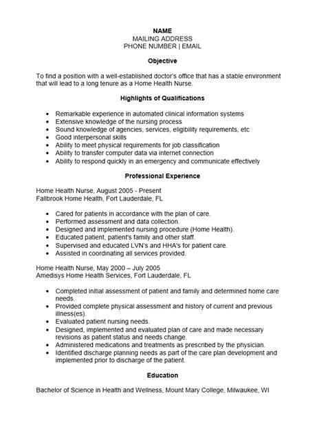 sle resume for home health aide best resumes