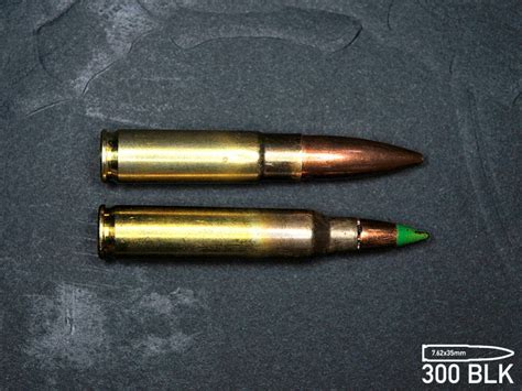 300 aac blackout 30 caliber ammo for 556 weapons at