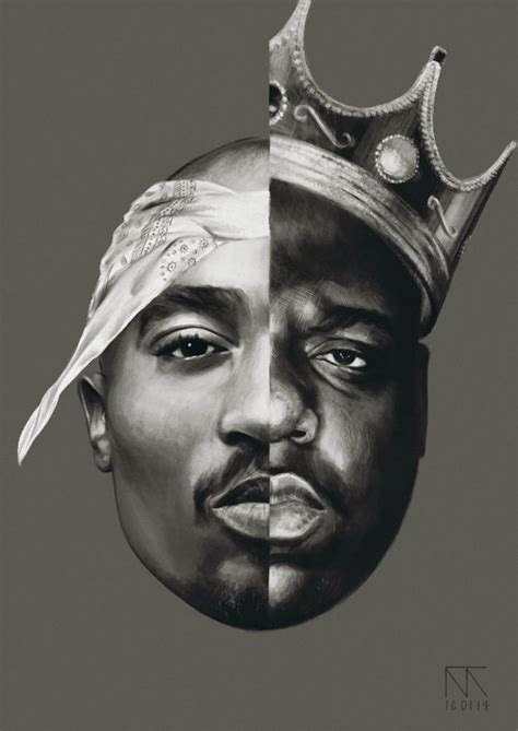 wallpaper for iphone tupac cool notorious b i g and tupac shakur art 2pac
