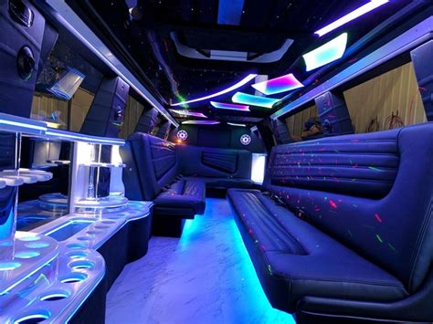 Inside A Limo by Limousine Interior Photos