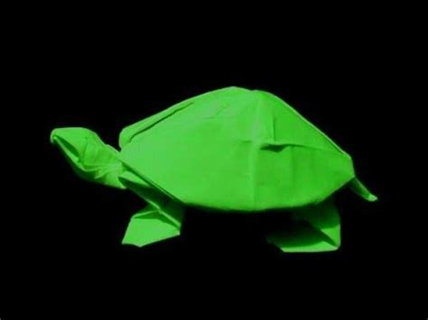 How To Make Paper Tortoise - how to make origami turtle robert j lang