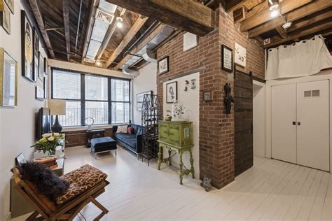 exposed brick apartments bakery turned condo in williamsburg holds an incredible