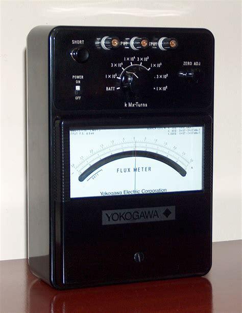 Multimeter Flux flux meter yokogawa model 3254 171 www museu tecnologia br