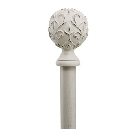 curtain rod finials french country shabby cottage chic