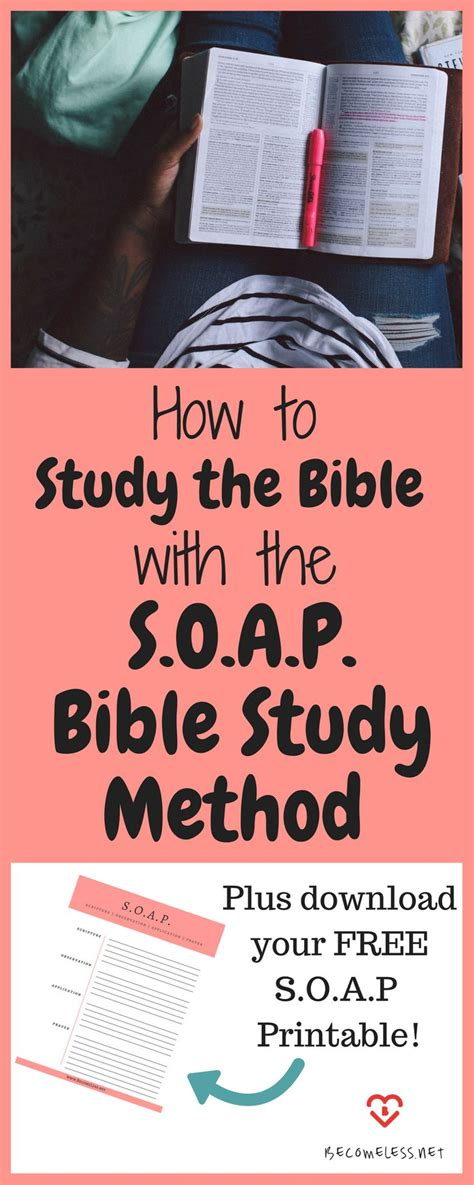 Pdf Best Way To Study Scripture by Best 25 Soap Bible Study Ideas On Devotional