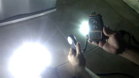 hid comparison 55 watt vs 35 watt using meter 2