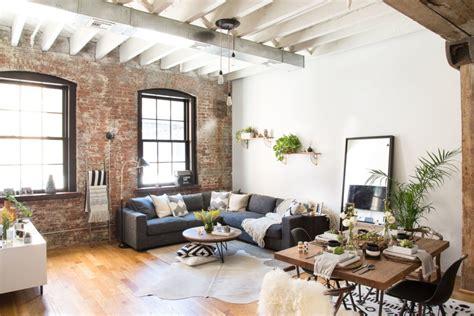 rustic industrial living room vibes homepolish