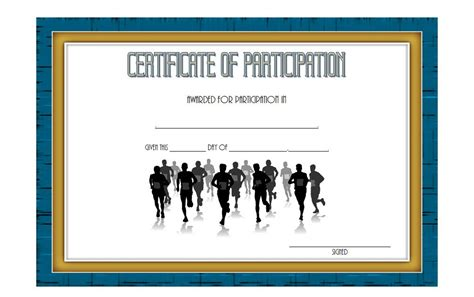 run certificate template gymnastics certificate template run templates for