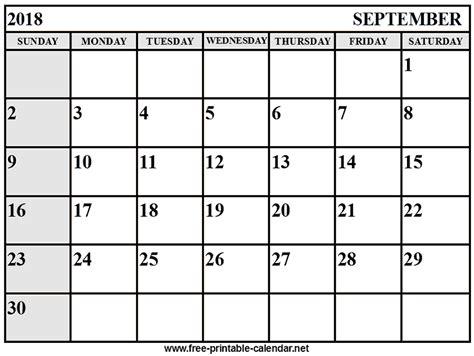 printable calendar september 2018 september calendar 2018 download print calendars from