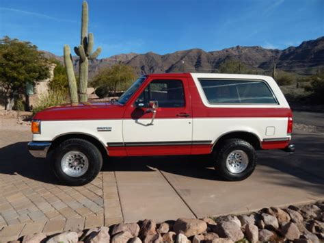 how cars run 1988 ford bronco transmission control 1988 bronco xlt 35k documented original miles for sale photos technical specifications