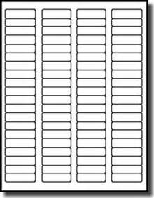 small quatity package of return address labels