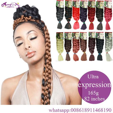 expression braiding hair 82 quot expression braid 165g ultra kanekalon expression