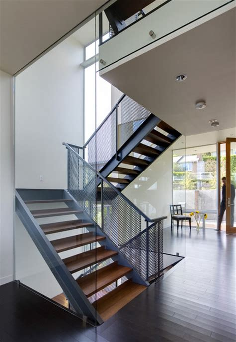 home design app stairs stair house modern staircase seattle by david