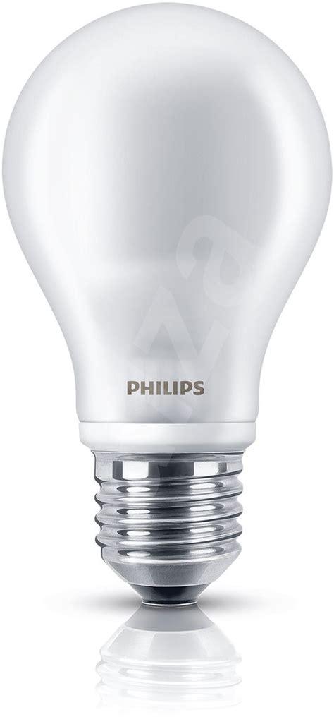light speaker set eso philips led 7 60w e27 2700k white 2pcs