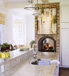Fireplace Between Two Rooms by 1000 Images About Kitchen Fireplaces On