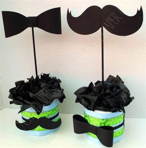 Mustache And Tie Baby Shower Decorations by 17 Best Ideas About Mustache Centerpieces On