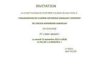 Exemple De Lettre D Invitation Du Maire Modele Invitation Maire Inauguration Document