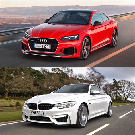 evo mag bmw m4 competition pack vs audi rs5 vs mercedes