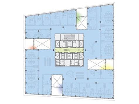 Studio Floor Plan Layout unstudio completes daylit flexible office tower in