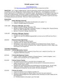 Resume Job Objective Teacher by Friendly Letter Format Pdf Best Template Collection