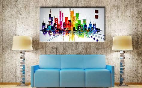 badezimmer leinwand kunst bilder auf leinwand 214 lgem 228 lde abstrakte kunst handgemalt