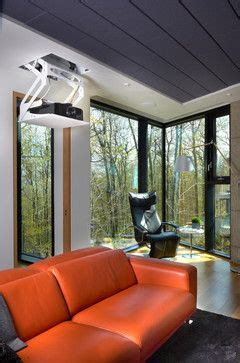 modern cool modern living room montreal by bruno 25 best ideas about projector screens on pinterest