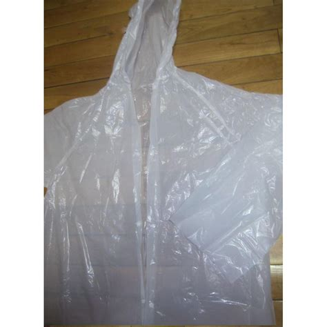 Diskon Jas Ujan Plastik Jas Hujan Traveling Portable jas hujan portable filament thick section raincoat with button transparent jakartanotebook