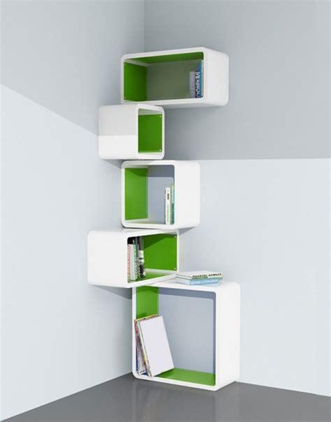 15 impressive corner wall shelves
