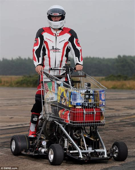 Bar Stool Cart by Motoring Nut Transforms Shopping Cart Into Jet Powered