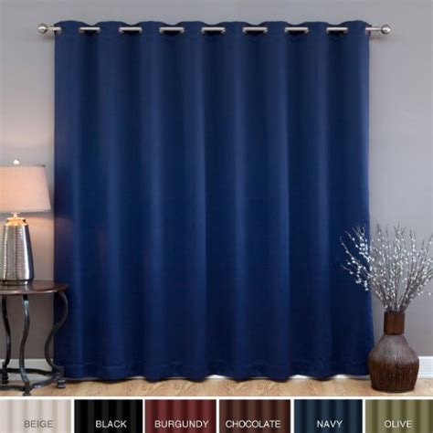 wide width blackout curtains best prices wide width grommet top thermal blackout