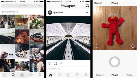 instagram design change instagram has a new black and white design in testing